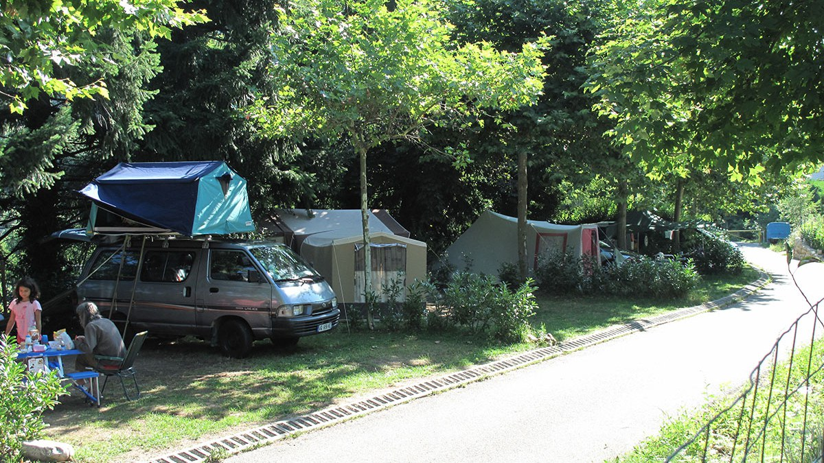 camping soleil rouge Ardèche