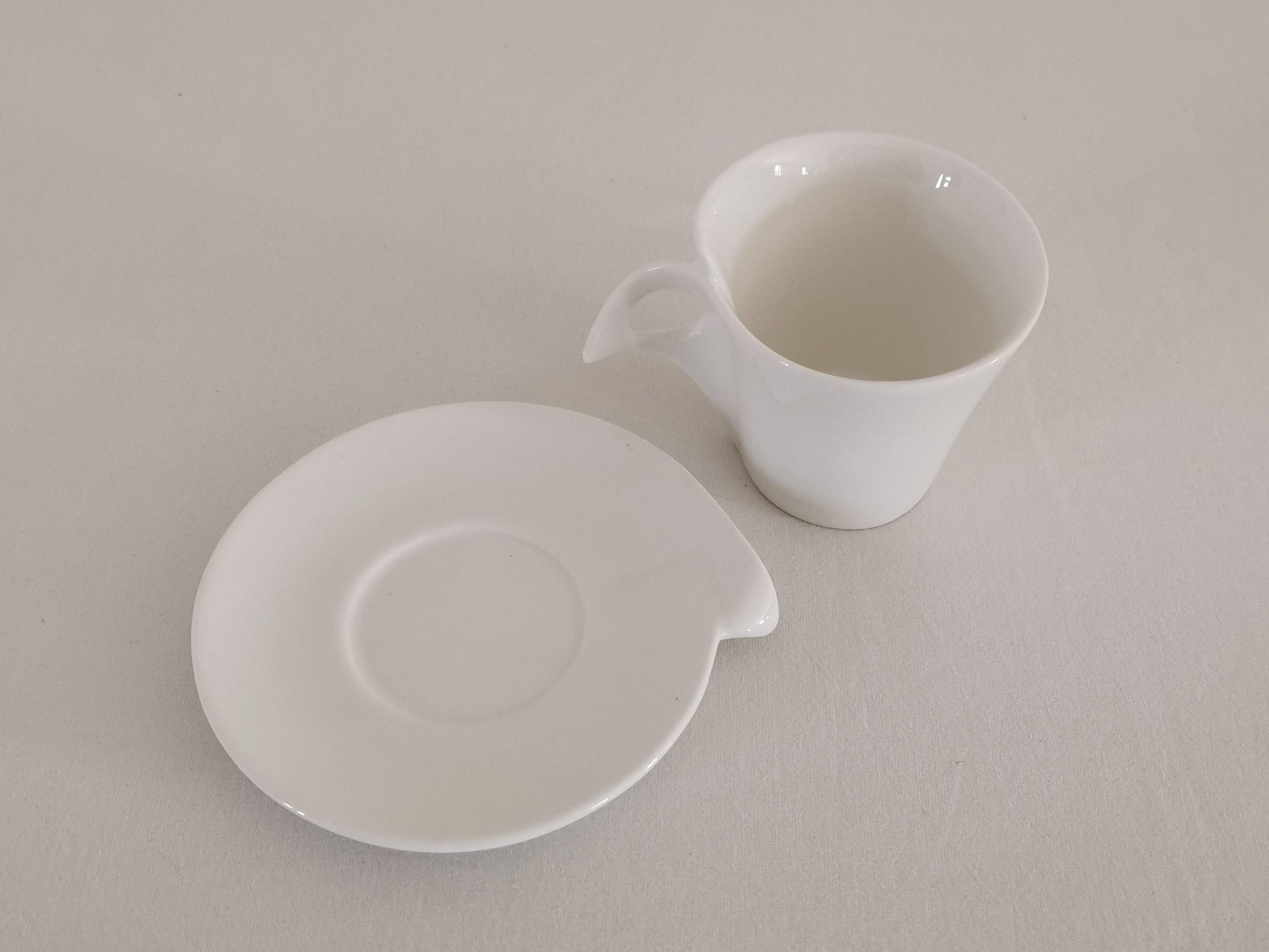 tasse café expresso blanc table passion
