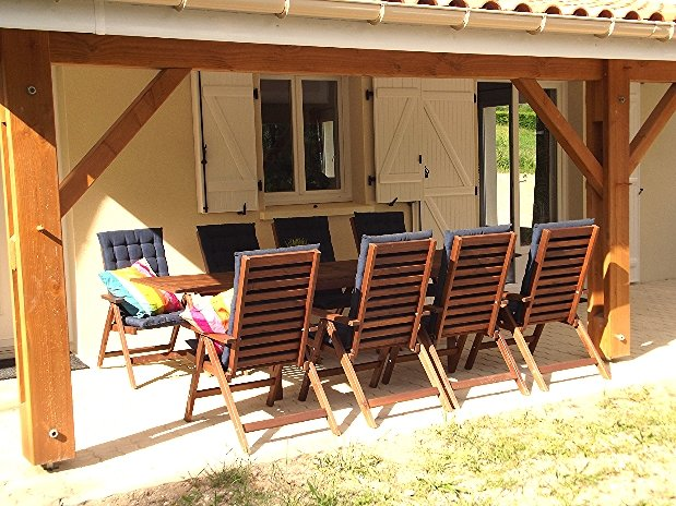 terrasse villa fan 3 chambres etang vallier