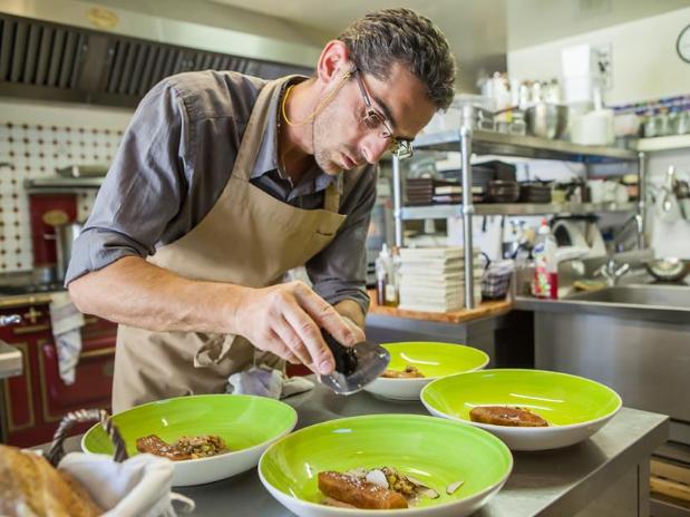 Vincent Lucas en cuisine...