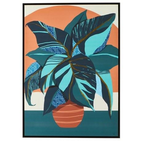 tableau plantes bleues