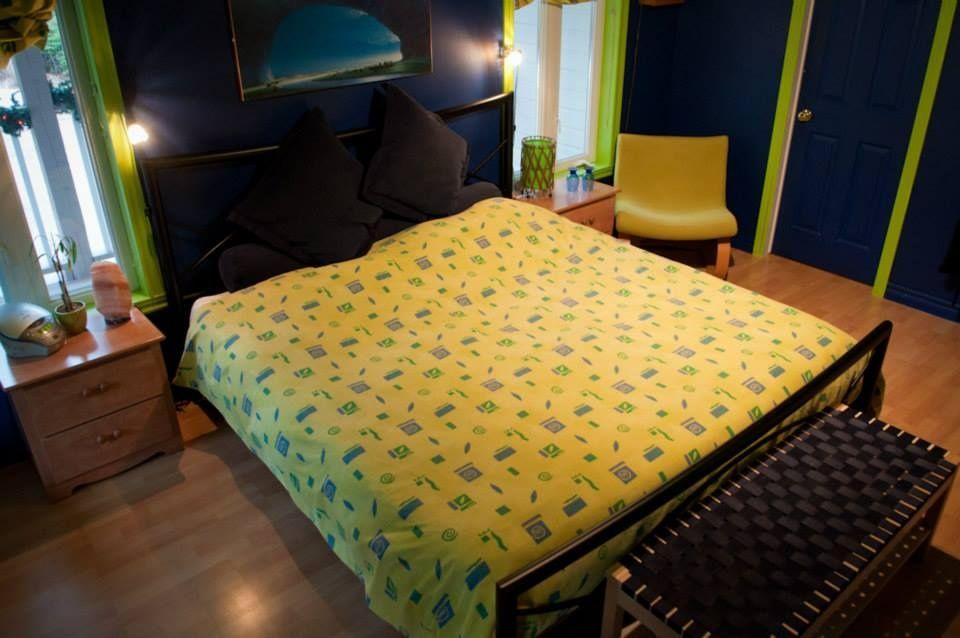 gîte-mont-tremblant-chambre-lit-king-size-2