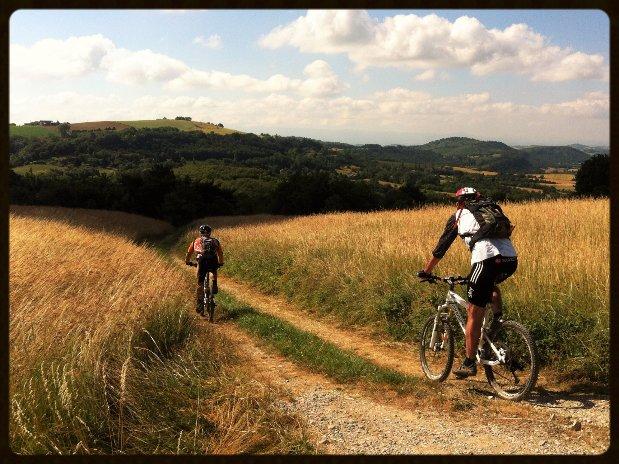 VTT Drôme des collines