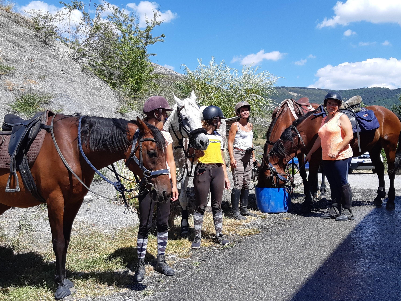 les cavaliers de chambaresque
