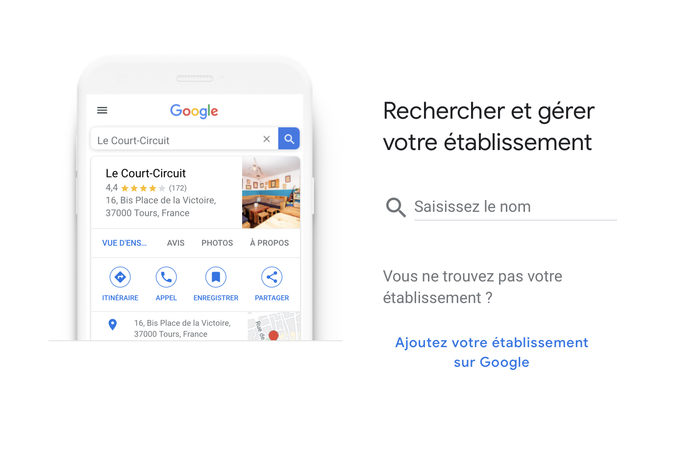 Créer Google My Business