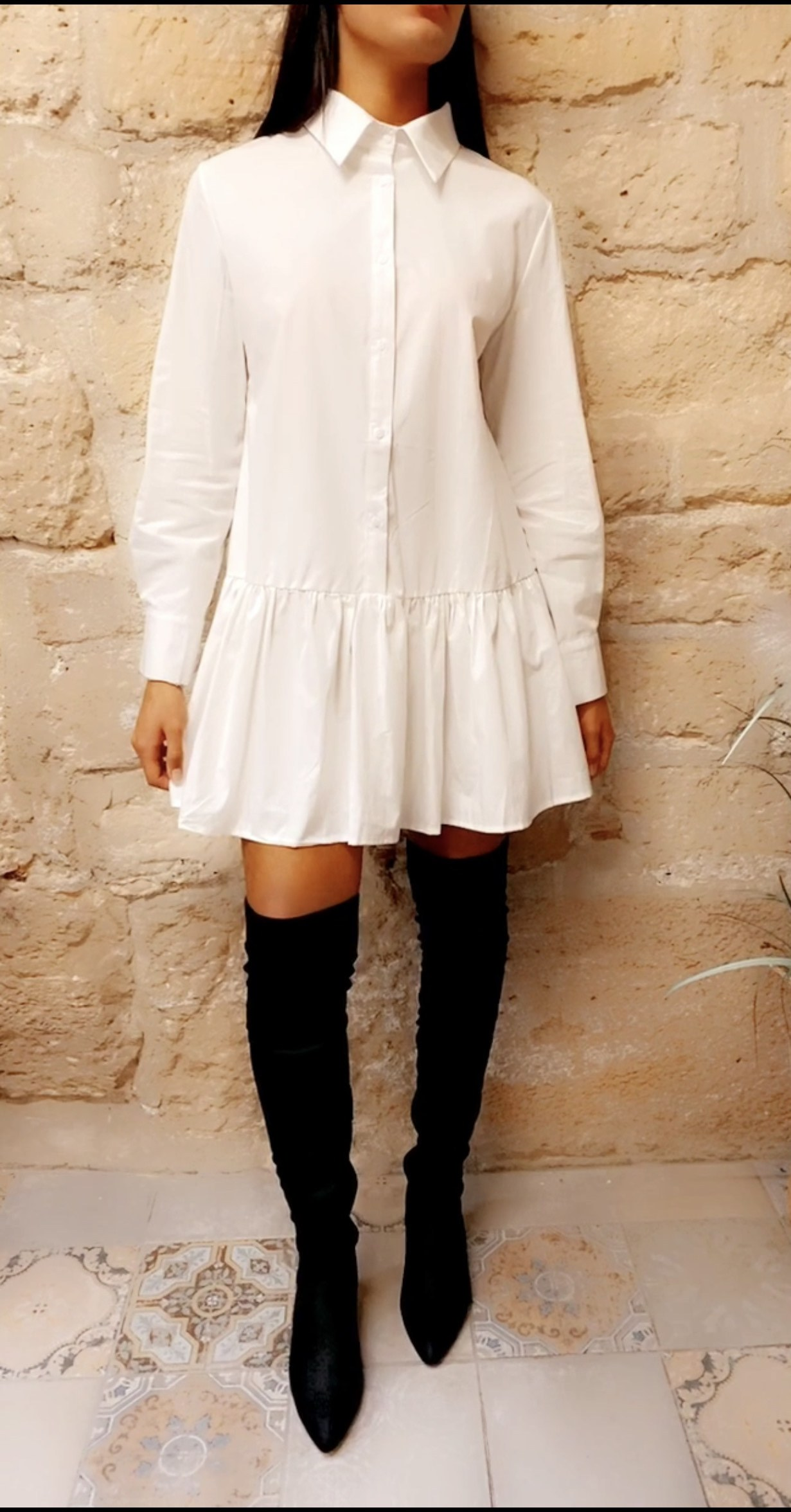 robe-chemise-blanche-imal-paris