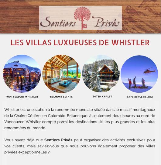 Villas Whistler