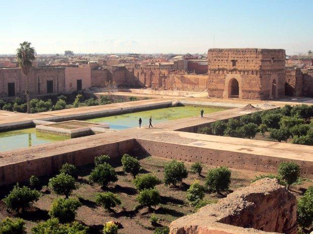 palais badii riad chamali marrakech morocco