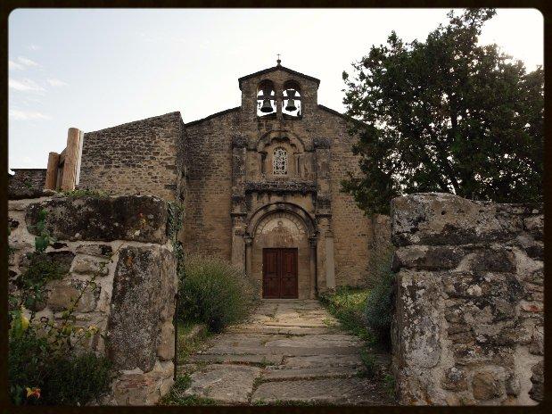 Façade église La Motte