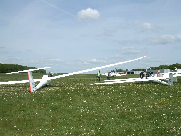gliding from Bailleau