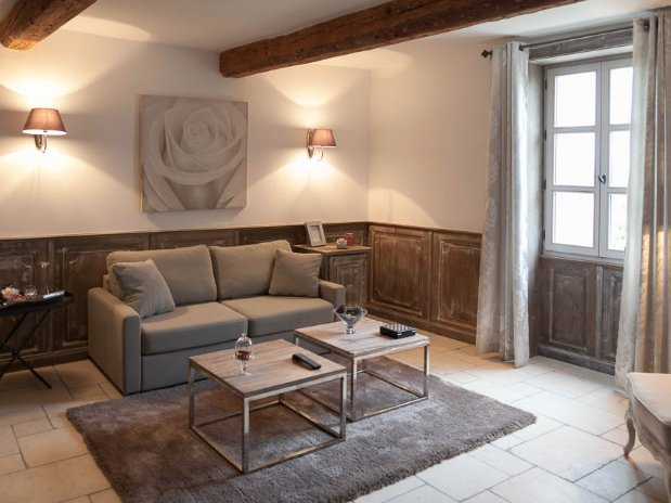 canape salon suite luxe maison hôtes provence