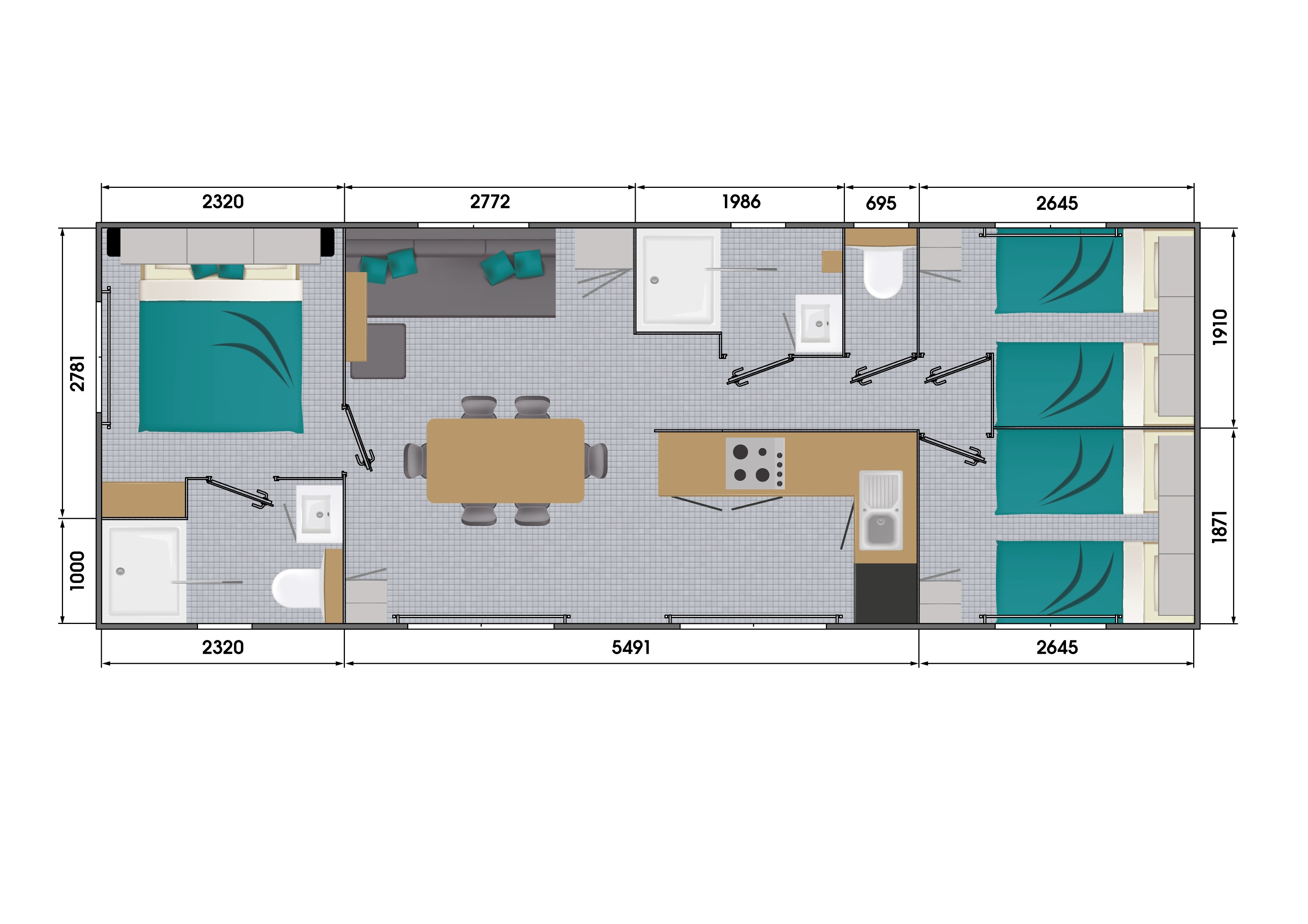 Grand Confort 40m²