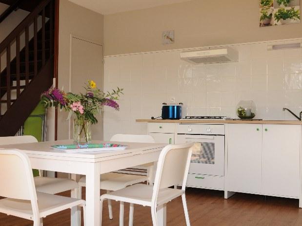 salon cuisine chalet