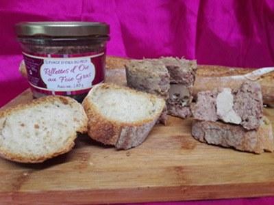 Rillettes au Foie gras d'Oie