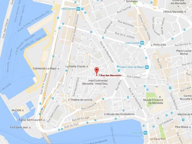Venire en Voiture Maison Boa Marseille