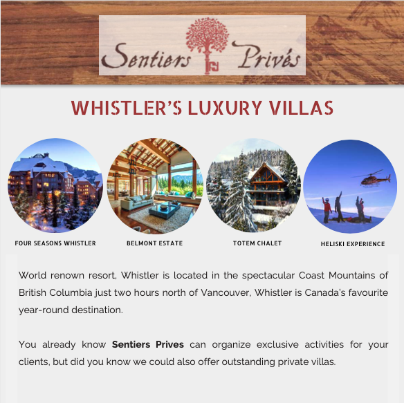 Whistler's Luxury Villas