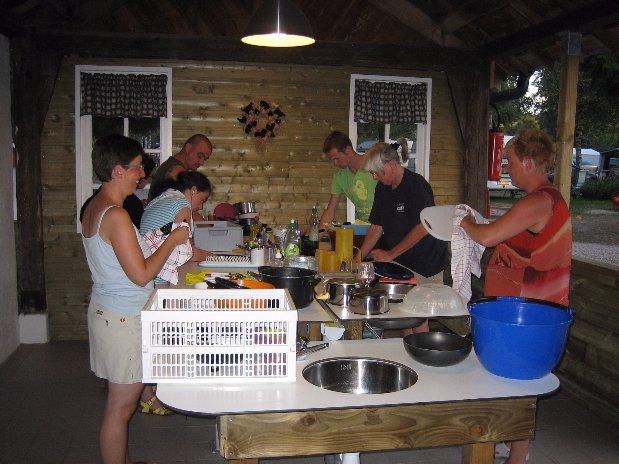 espace vaisselle camping vosges corcieux