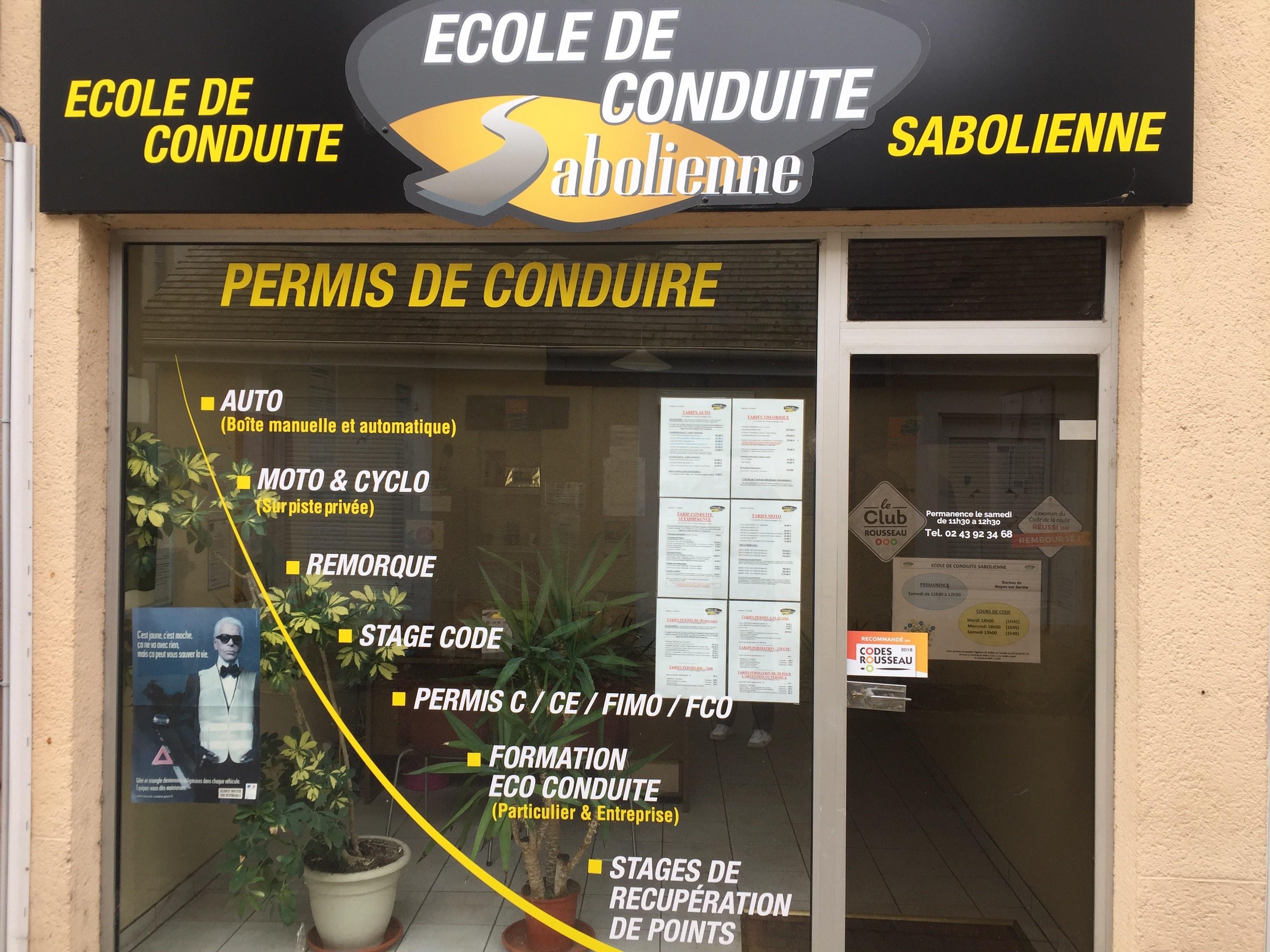 Ecole de conduite sabolienne - Noyen Sur Sarthe