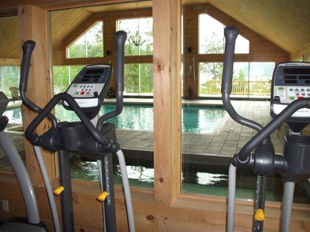 Pourvoirie du lac blanc saint alexis des monts salle exercice