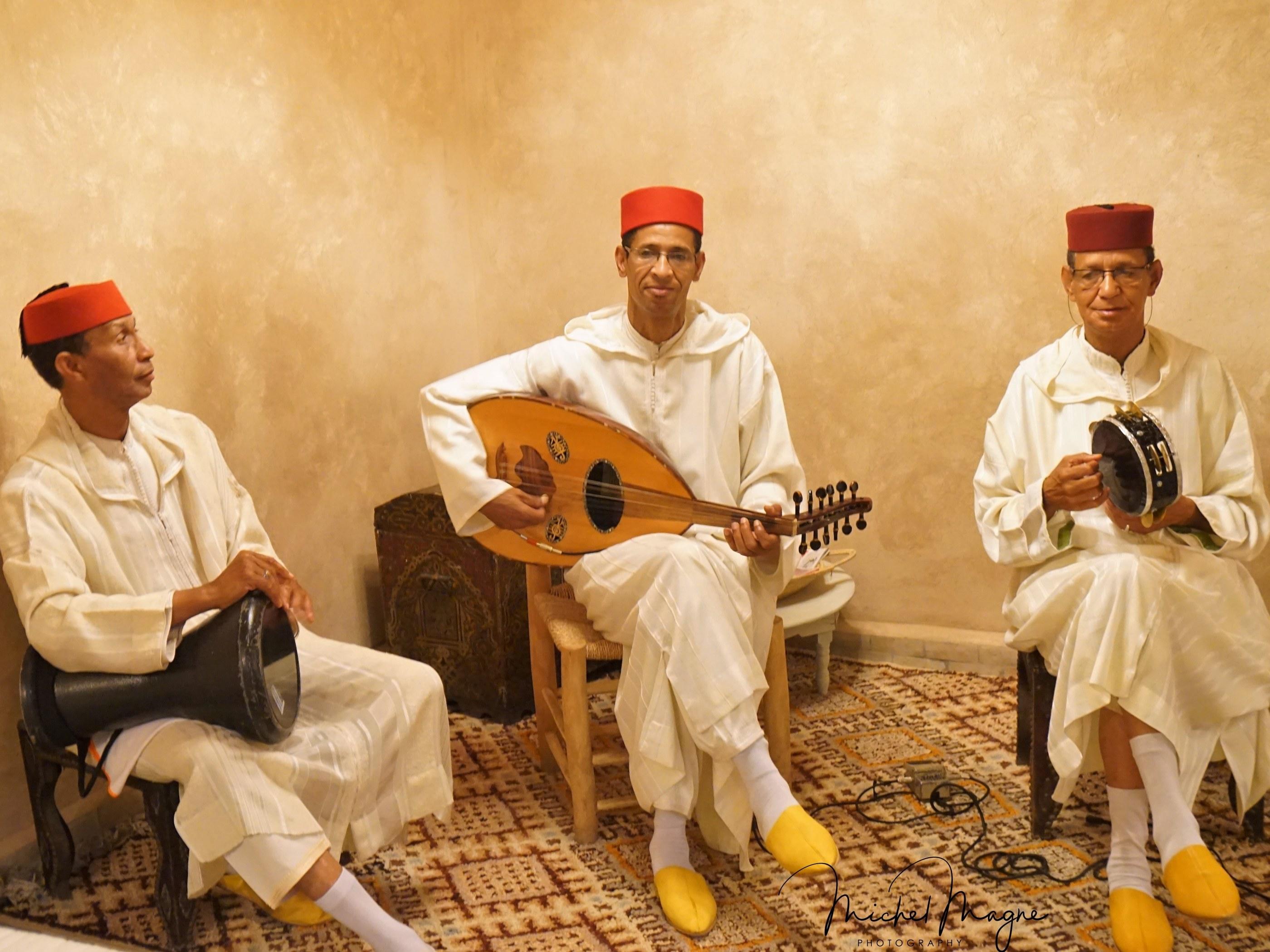musiciens andalous