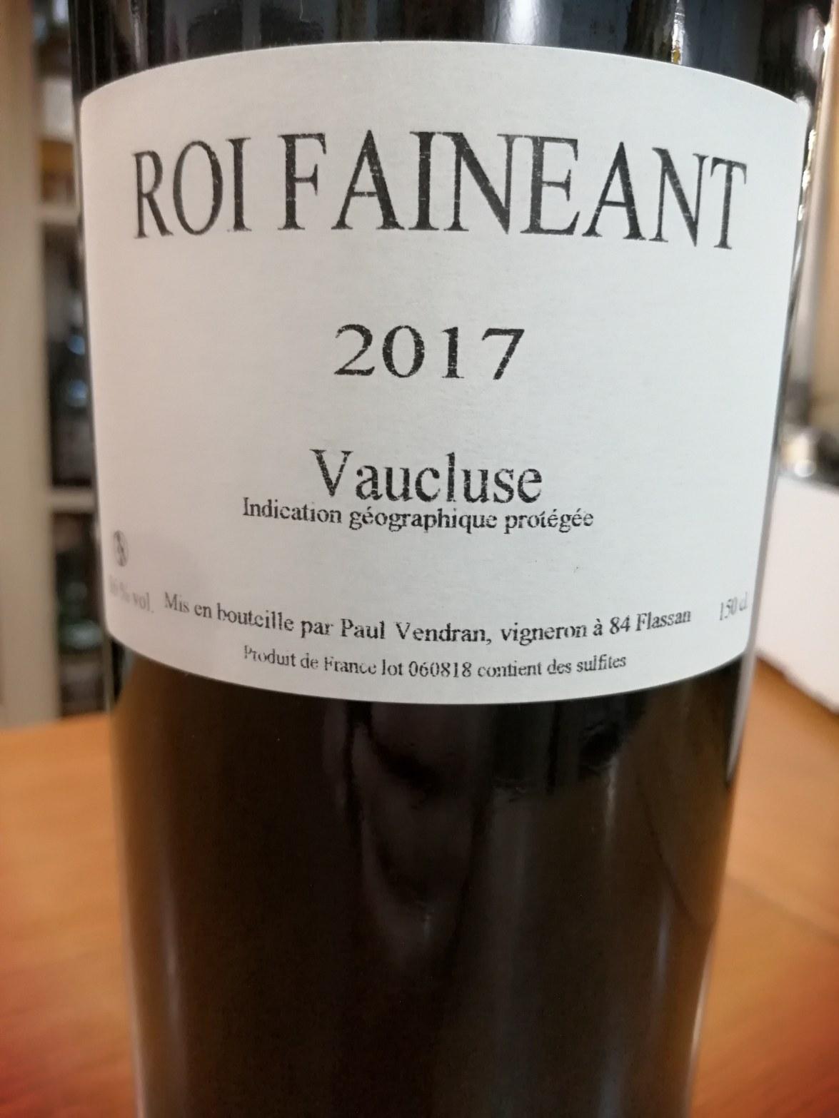 La Ferme Saint-Pierre. Le Roi Fainéant 2017. Magnum
