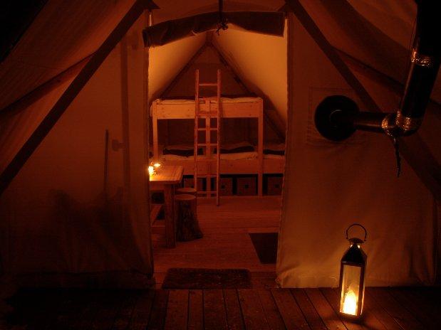 Kateya Lodge tente Altipik Mont-Saxonnex