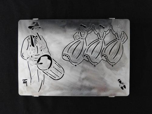 Tableau ou Dessous de plat Tambourinaire