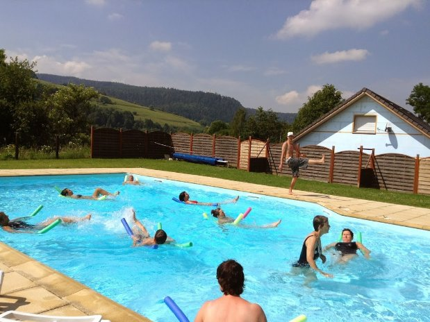 camping poutie - animations - aquagym