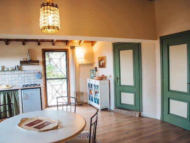 Rifugio di Cora Appartamenti Castello Santa Margherita Salotto