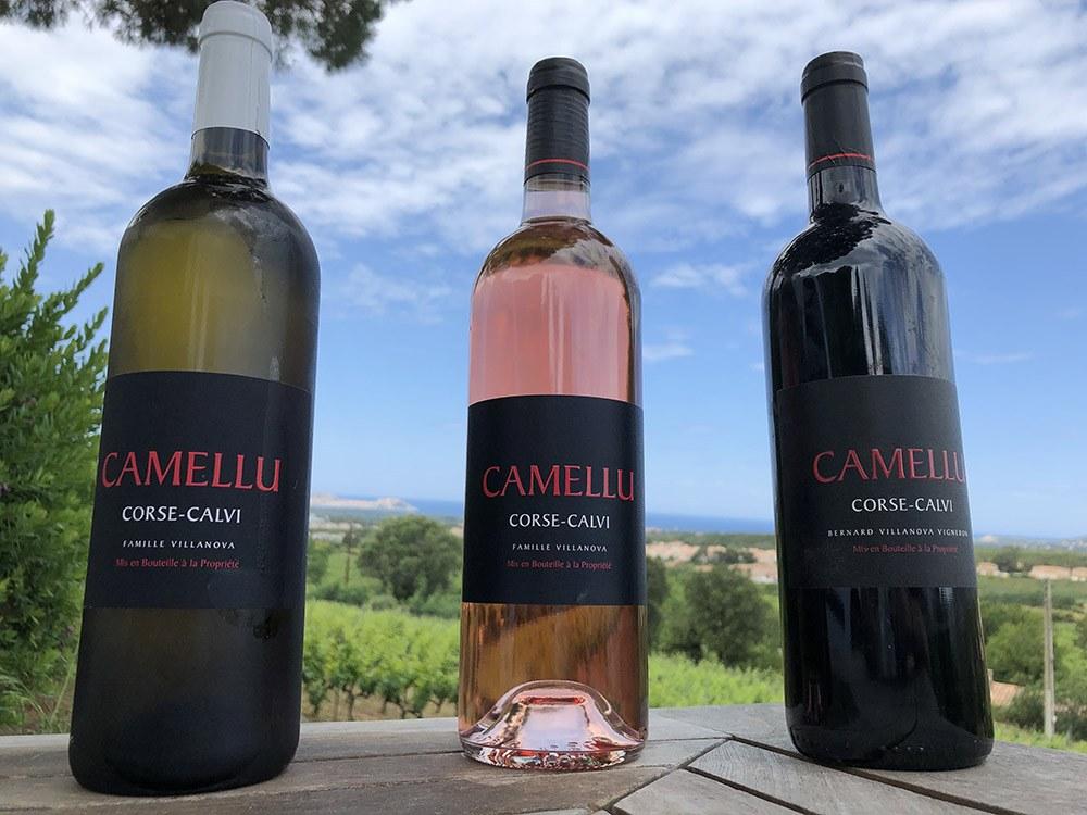 Les vins du Camellu à Calenzana