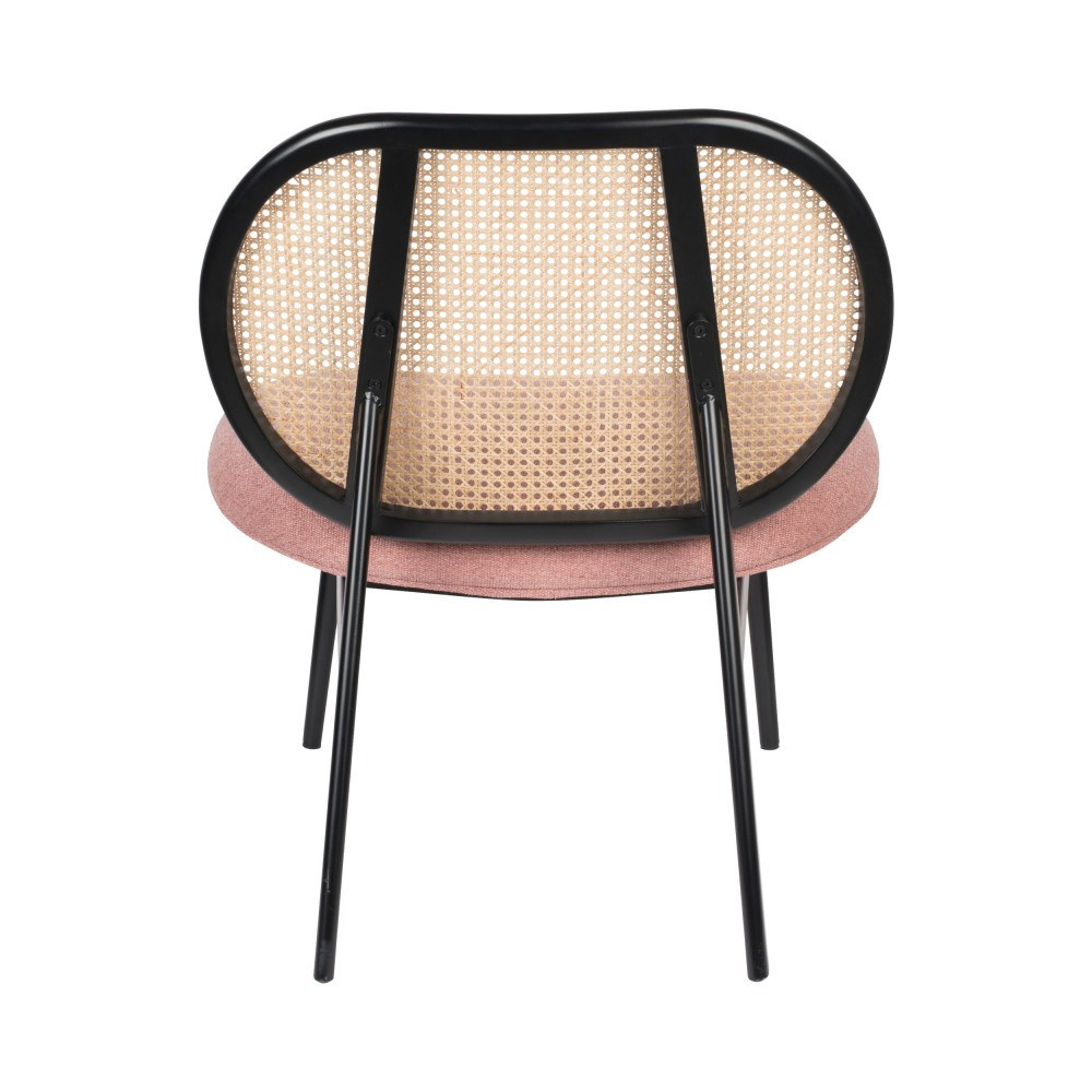 fauteuil lounge rose 4