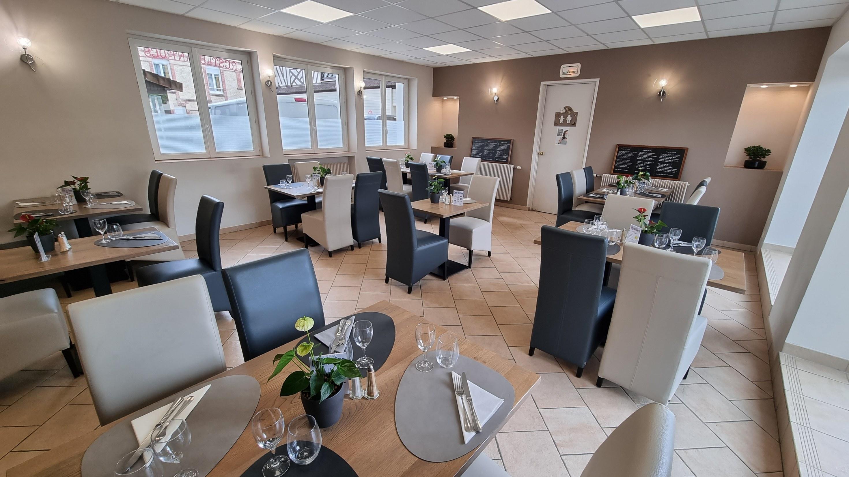 Salle de Restaurant Espace entre les tables