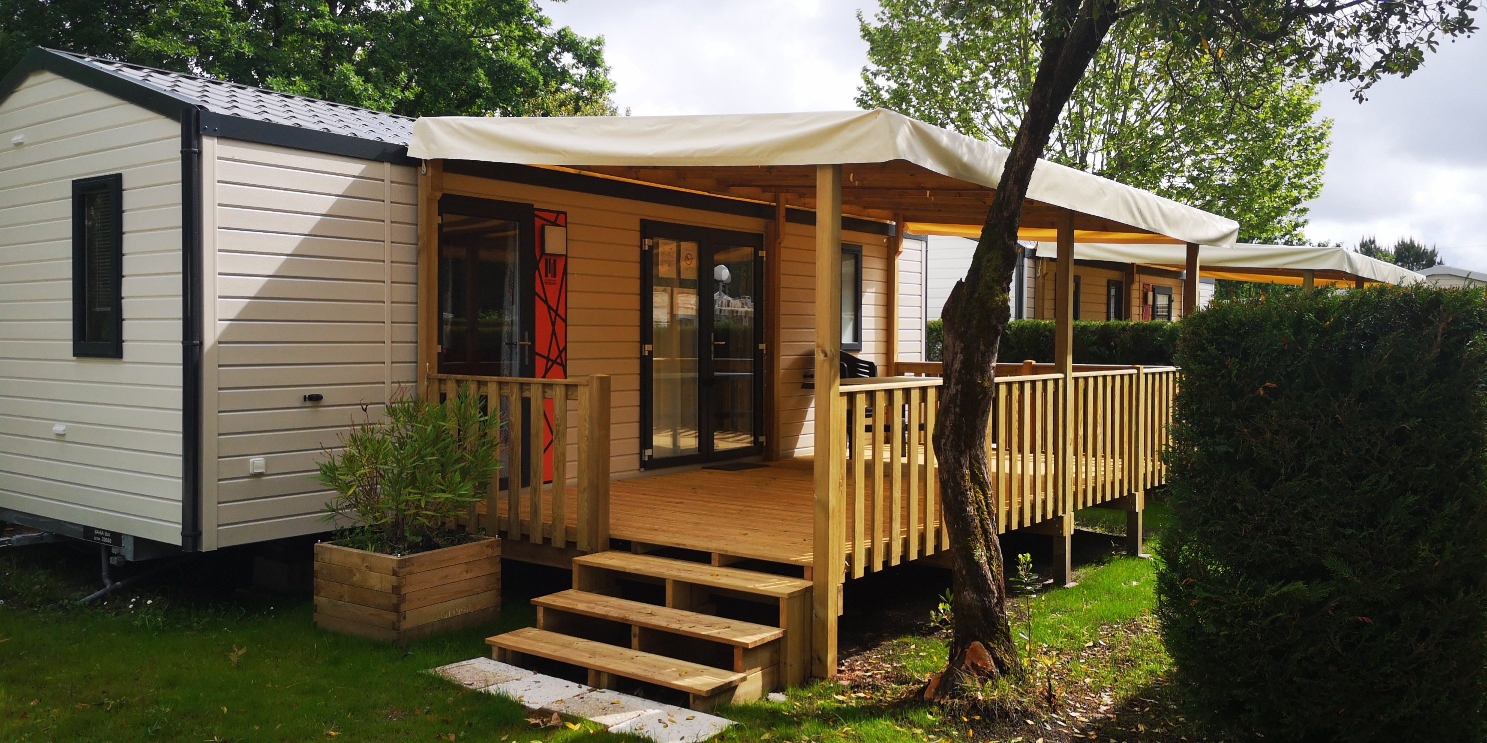 BAHIA DUO LUXE 4 PERSONNES CAMPING ARBOUSIERS***