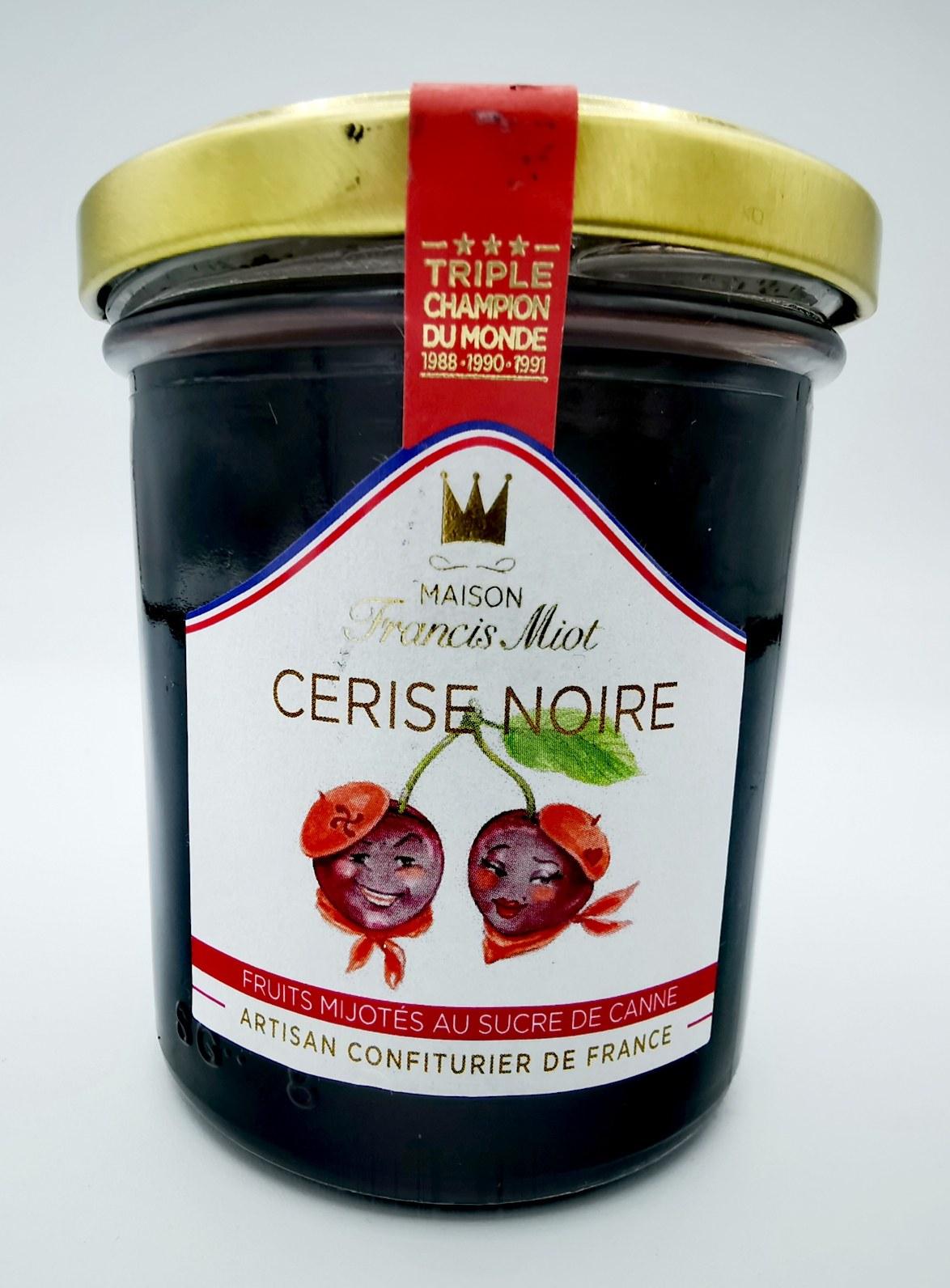 Cerise Noire - Francis Miot - Confiture - vallée d'aspe - création