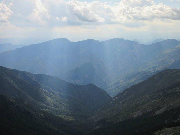 montagnes - randonnées - auberge des mures - mercantour