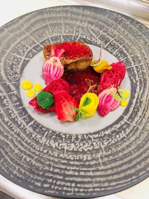 Escalope de foie gras