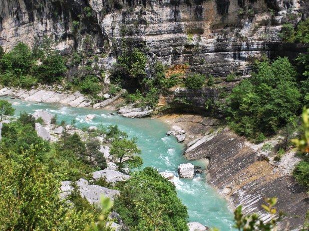 gorges du verdon - canyon - castellane - sentier martel