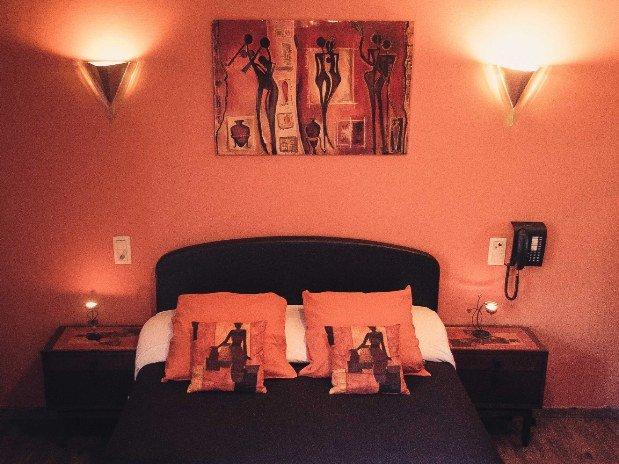 Chambre double L'Afrique Hotel Robinson