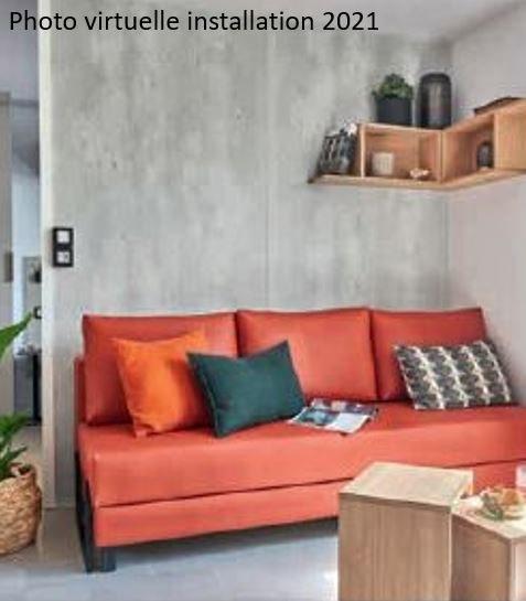 loft premium + séjour 02  - camping piscine familial proche ardeche gorges