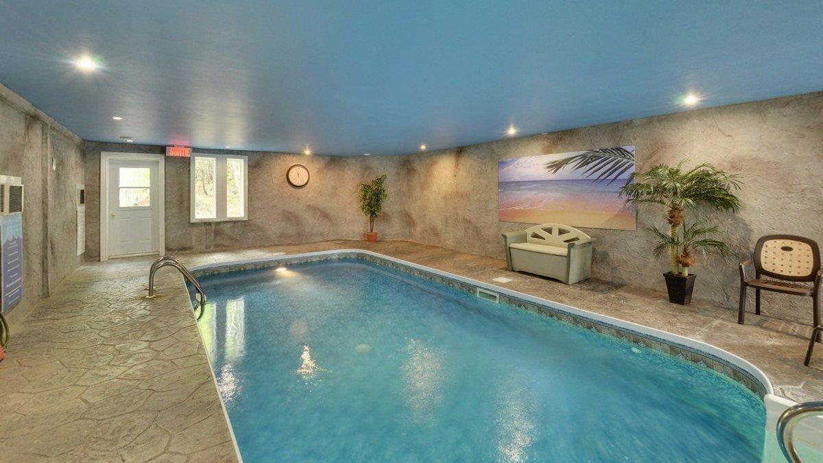 piscine interieure chauffee