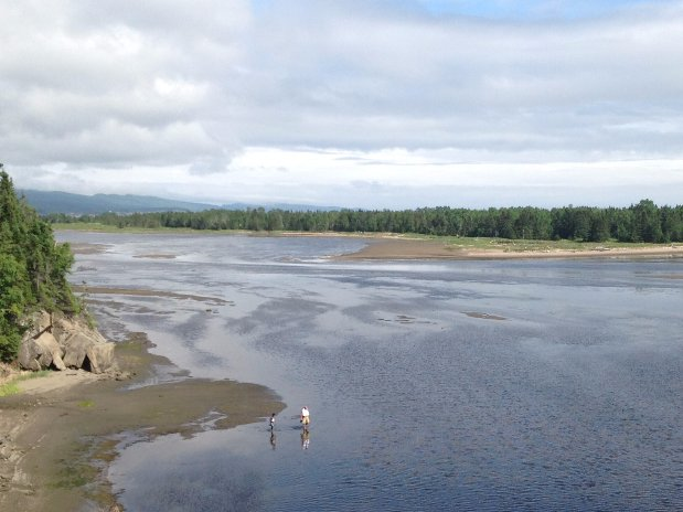 Chalet à louer Bord de la Baie, Gaspé, Forillon, Plage