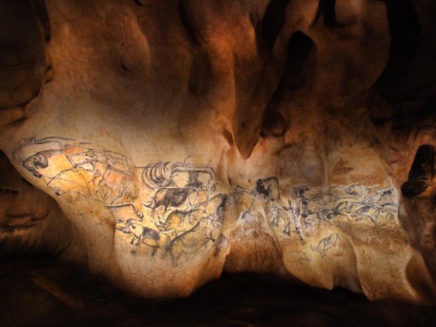 Caverne Pont d'Arc, grotte Chauvet