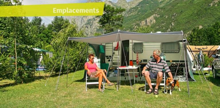 emplacement grand confort camping Alpes d'Huez piscine montagne Isère