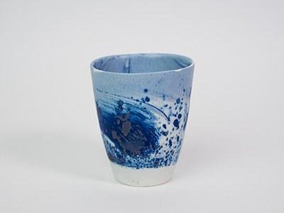 Tasse Bleue MAT - Collection Ligne Bleue