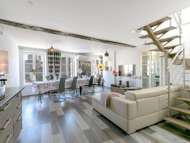 duplex leflamant location apparts h tel meubl s metz. Black Bedroom Furniture Sets. Home Design Ideas