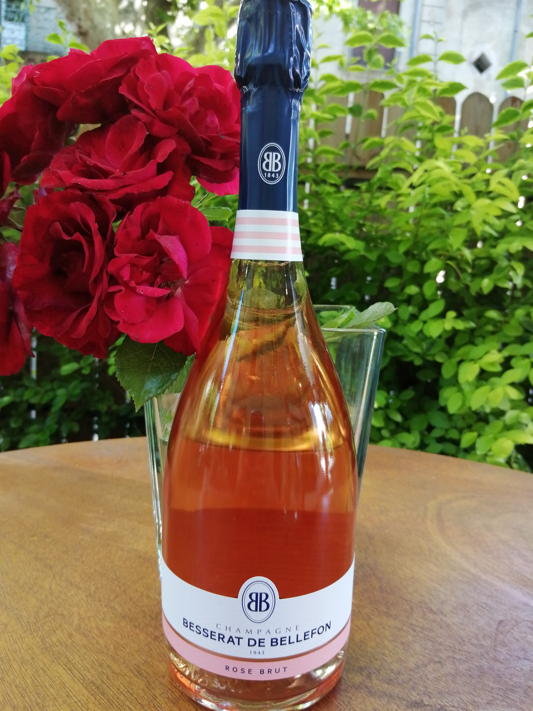Chamapgne Besserat de Bellefon. Rosé Brut.