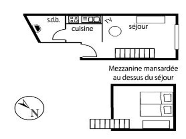 Plan Gîte Mazurka