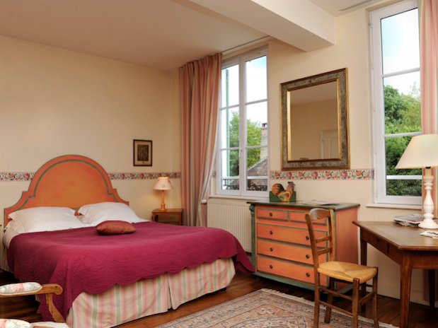 chambre rouge Beauchots Troyes Champagne