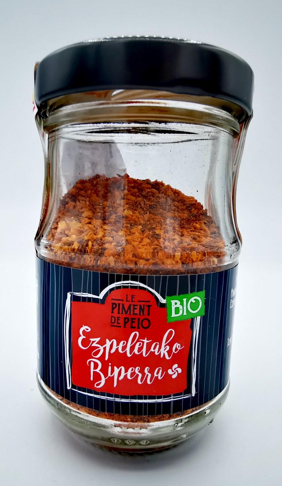 Piment d'Espelette - Le Piment de Peio - AOP - vallée d'aspe - local - condiment