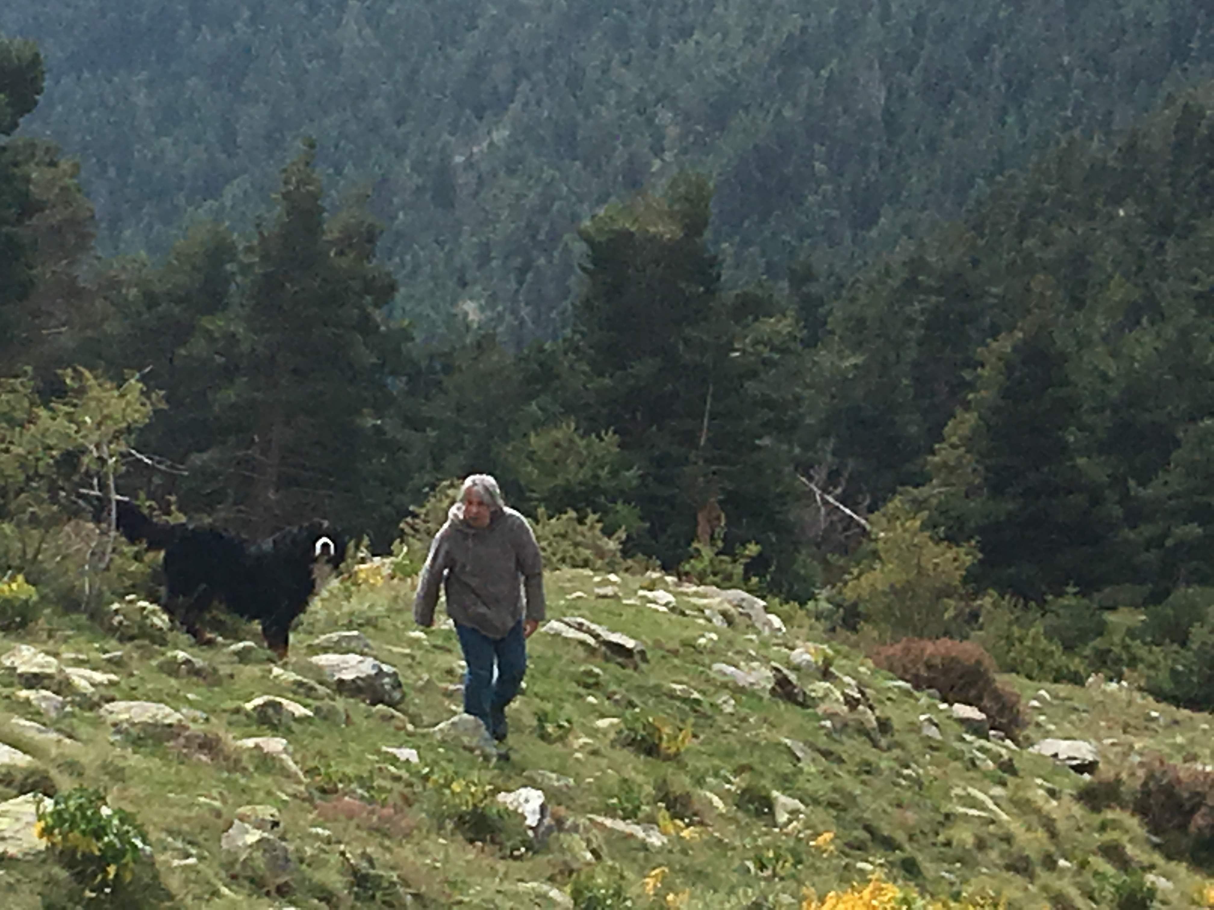 ensemble en montagne